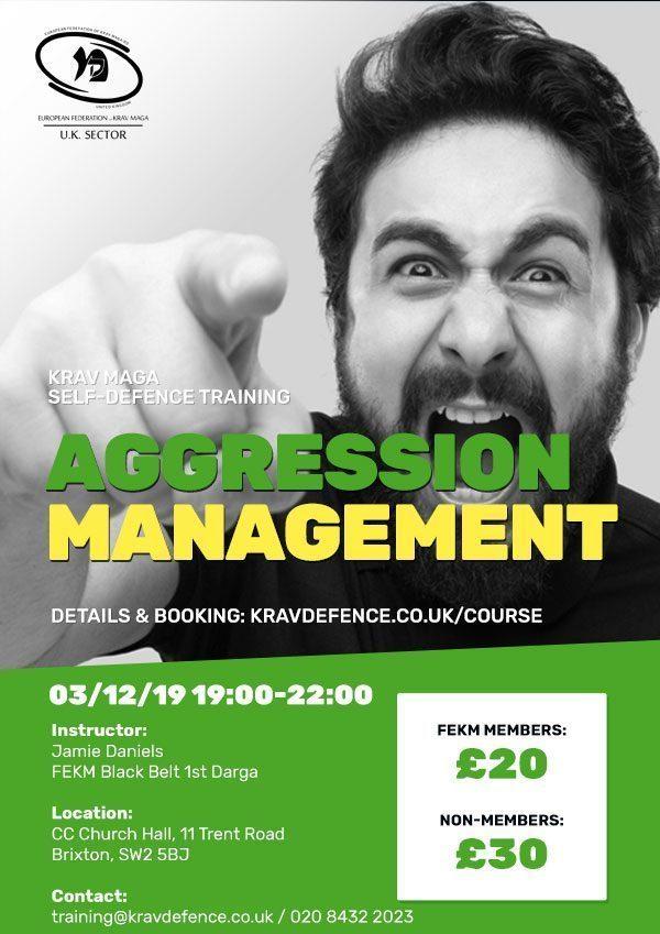 Aggression Management Course
